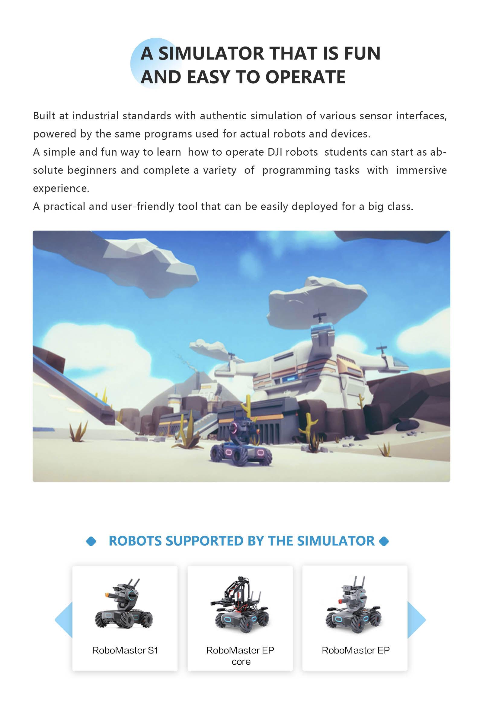 DJI Education Hub - Robots Supported