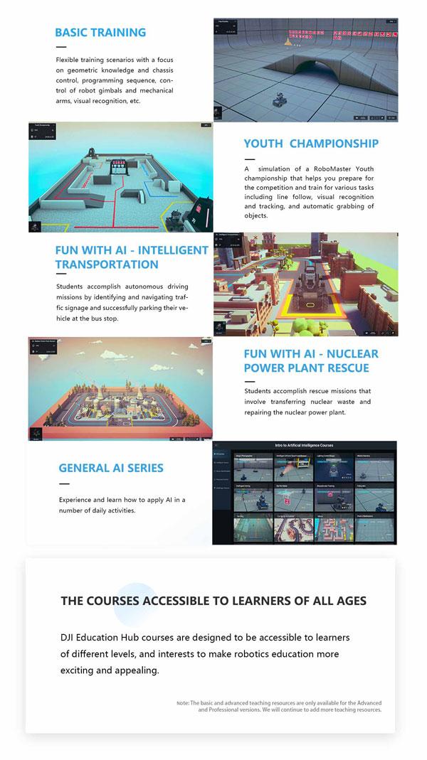 DJI Education Hub - Courses