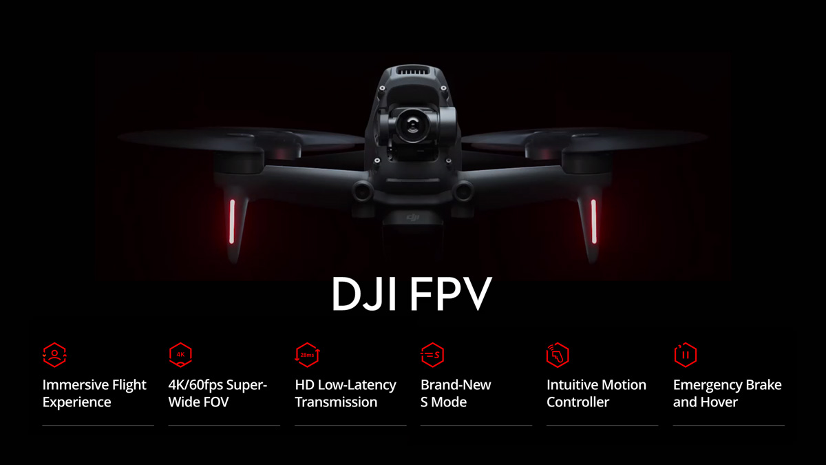 DJI FPV Descriptions - Redefine Flying