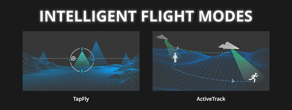 DJI Inspire 2 Intelligent Flight Modes