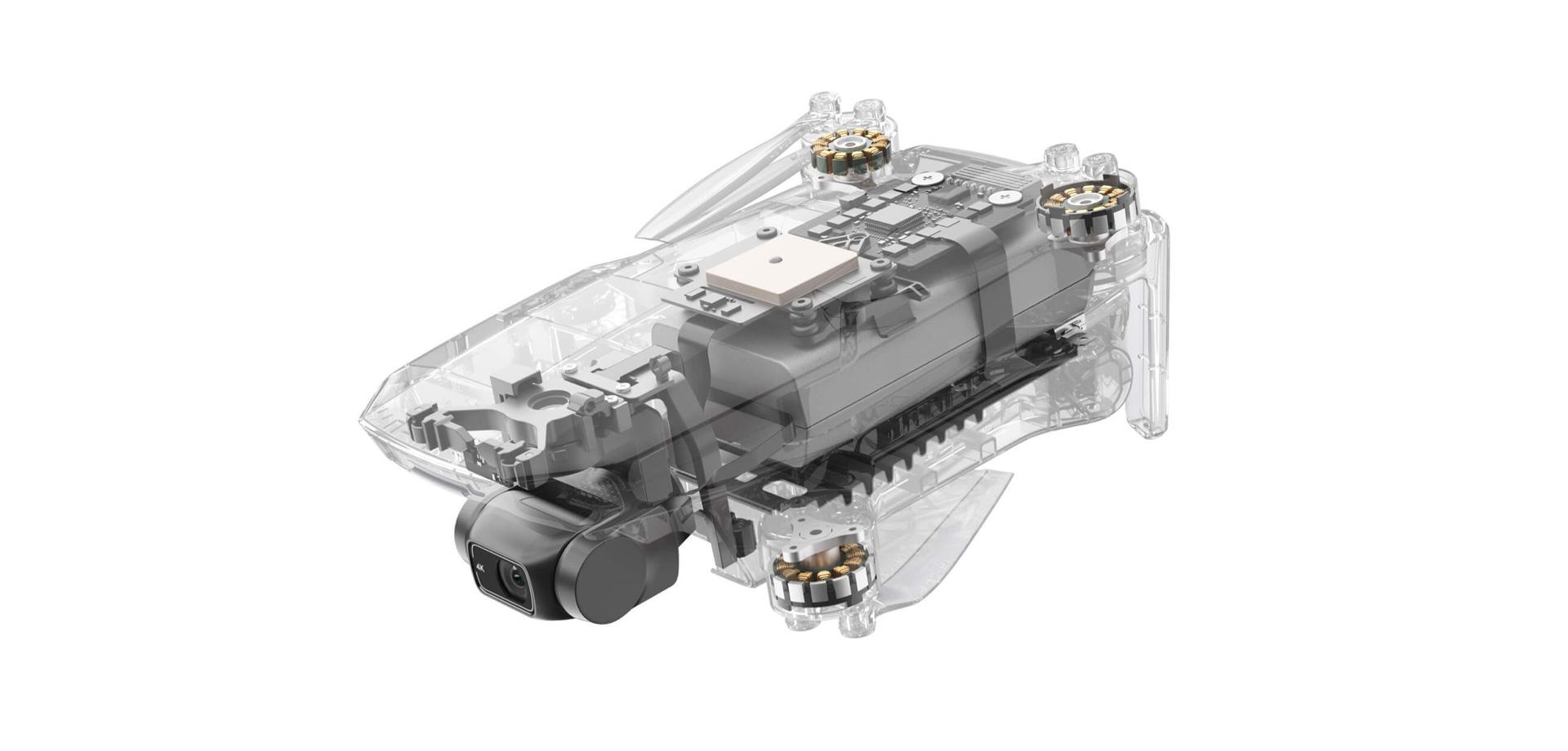DJI Mini 2 Inner Structure
