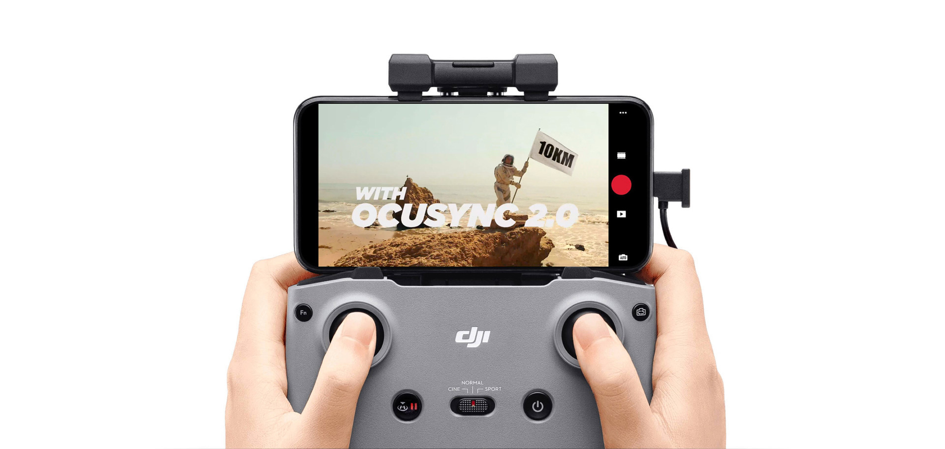 DJI Mini 2 OcuSync 2.0 Video Transmission<