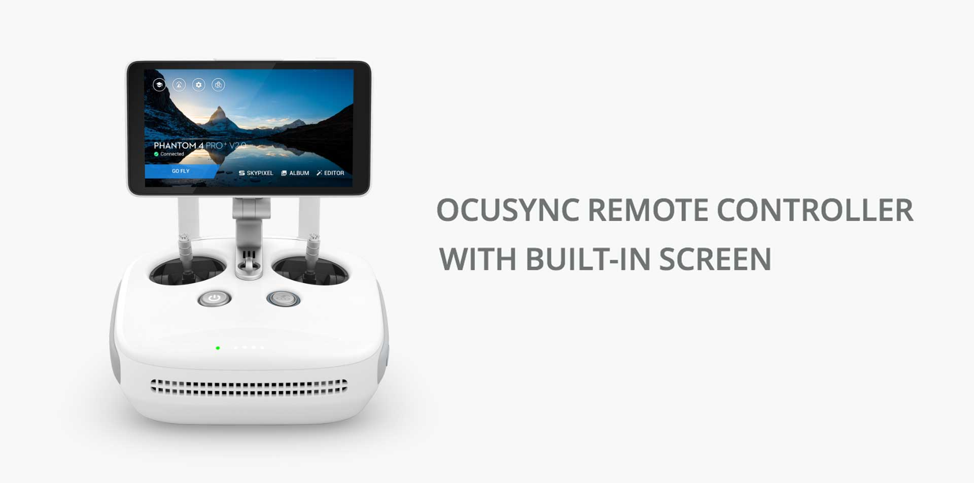 DJI Phantom 4 Pro V2.0 OCUSYNC REMOTE CONTROLLER WITH BUILT-IN SCREEN