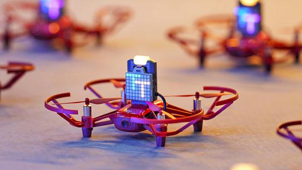 DJI ROBOMASTER TT TELLO TALENT - Easily Set up Multi-Drone Formation