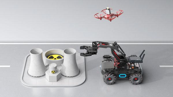 DJI ROBOMASTER TT TELLO TALENT - Air-Ground Operation