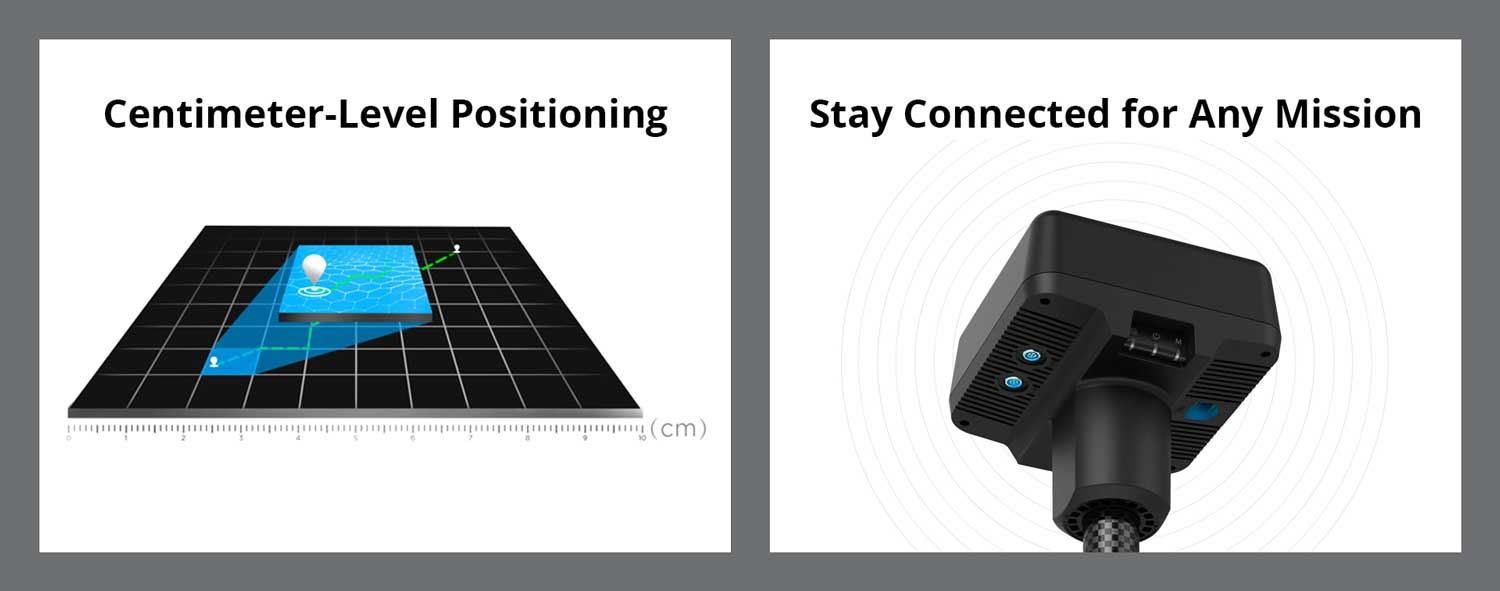 DJI D-RTK 2 Mobile Station Centimeter-Level Positioning and Staying Connected for Any Mission