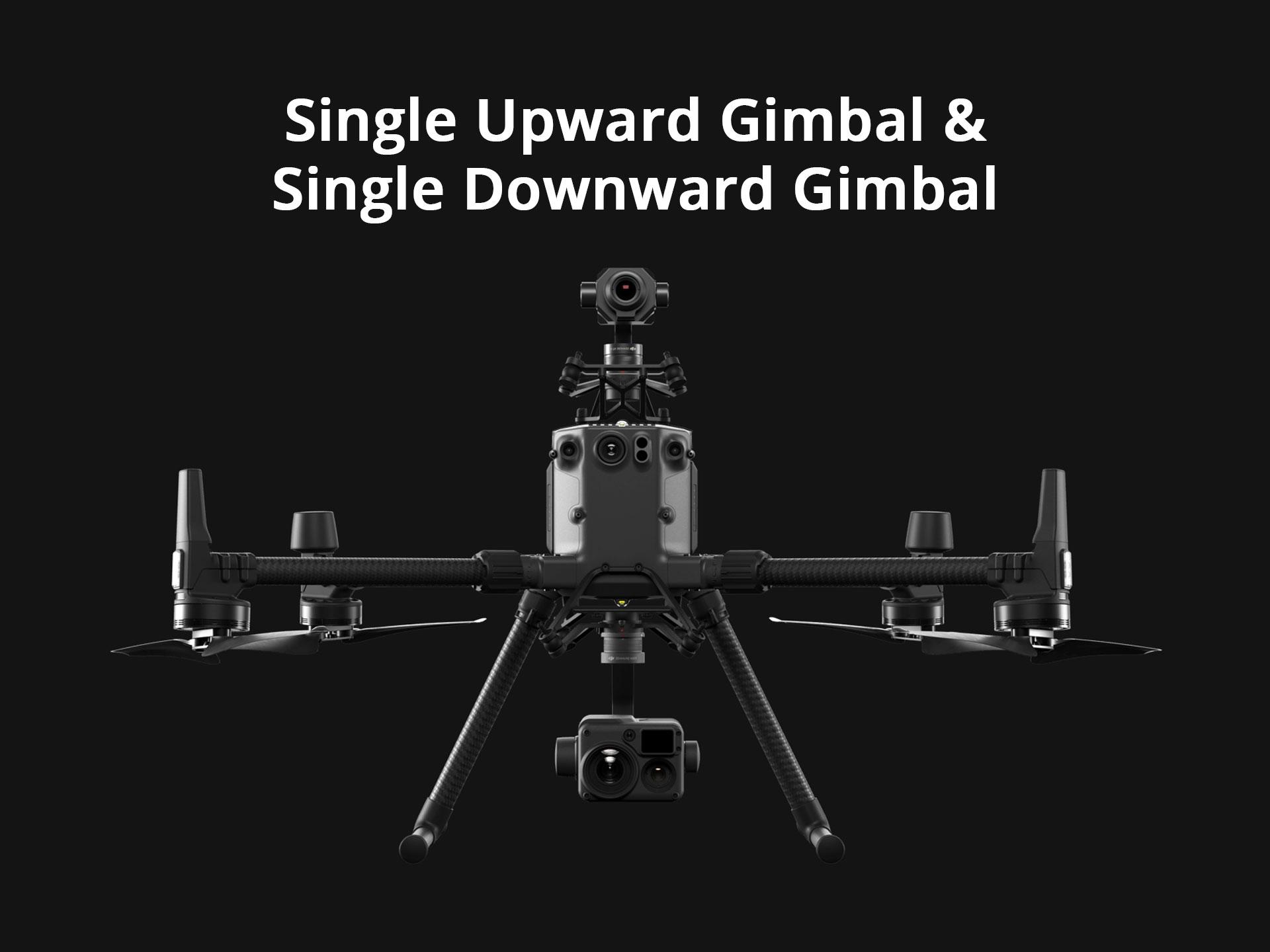 DJI Matrice 300 RTK Single Upward Gimbal x Single Downward Gimbal