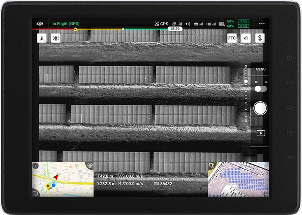 DJI Zenmuse XT S Solar Panel Inspection