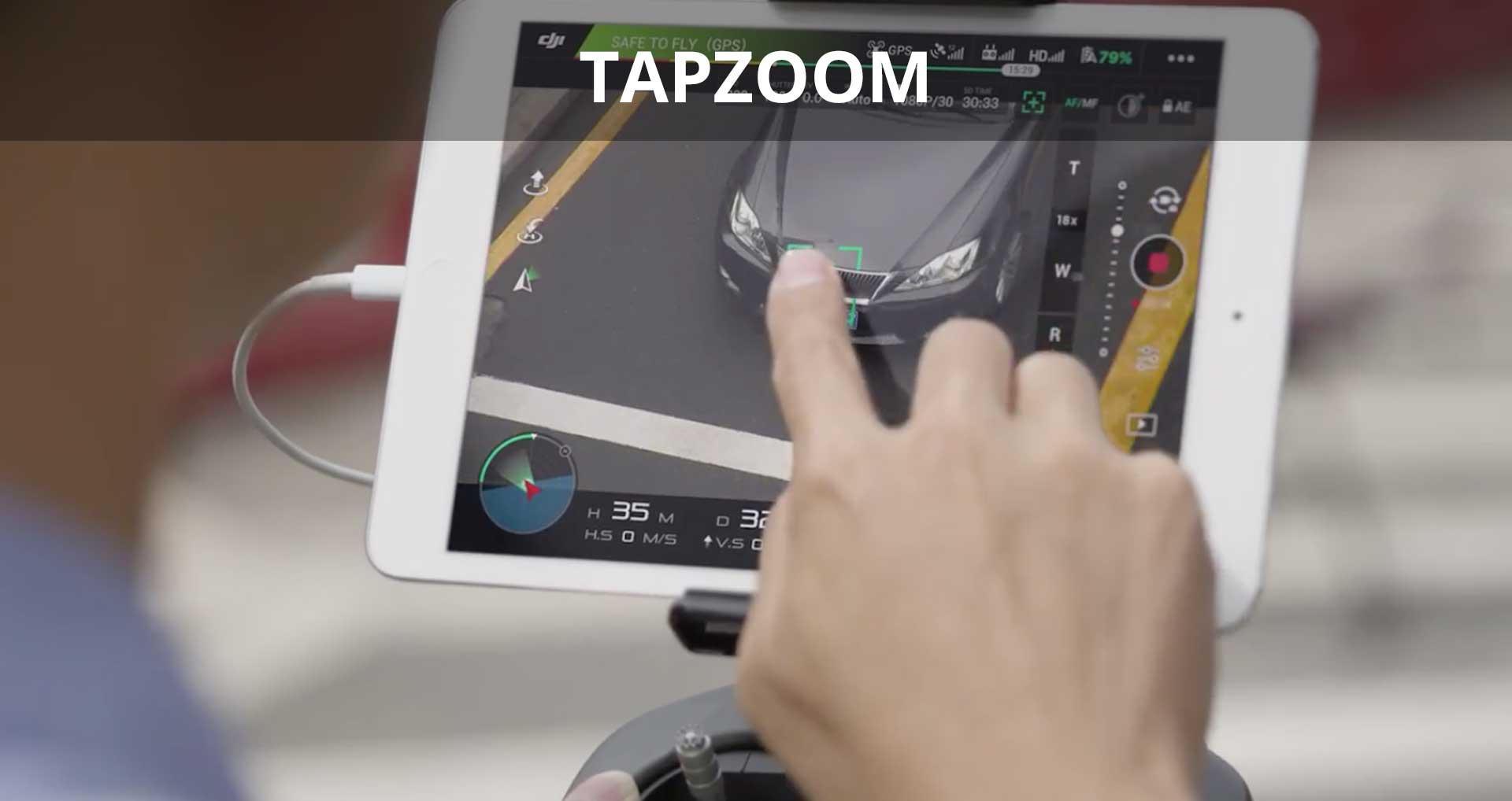 DJI Zenmuse Z30 TapZoom