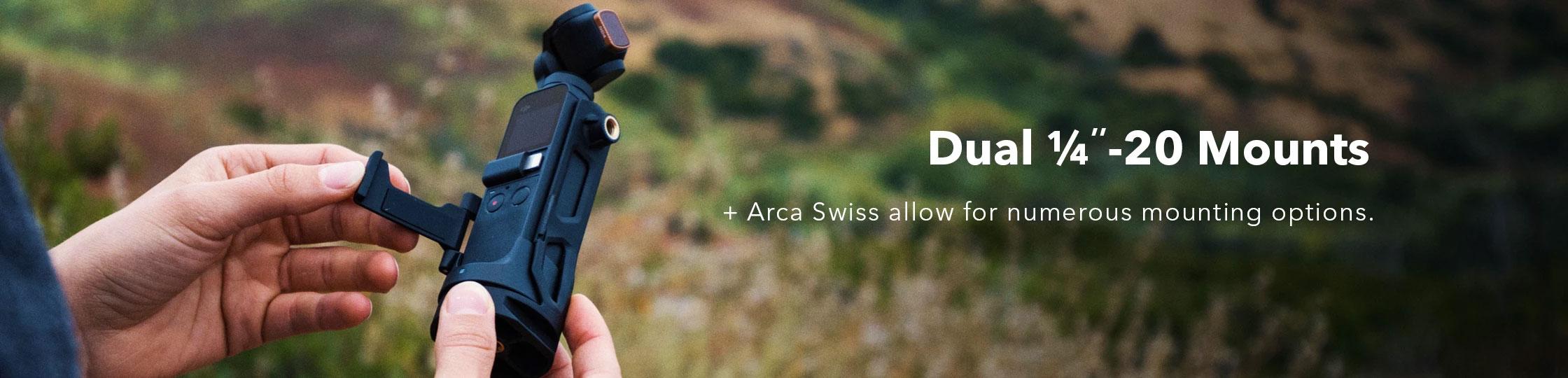 PolarPro Wifi Tripod Harness Arca Swiss